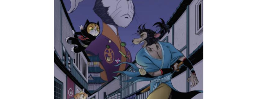 Ronin Rat & Ninja Cat. Book 2 of 5