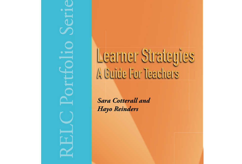 Learner Strategies : A Guide for Teachers