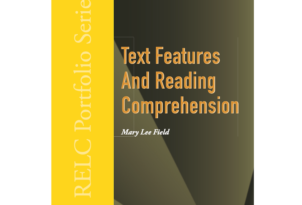 Text Features and Reading Comprehension
