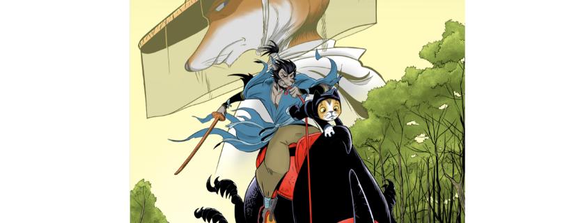 Ronin Rat & Ninja Cat. Book 3 of 5