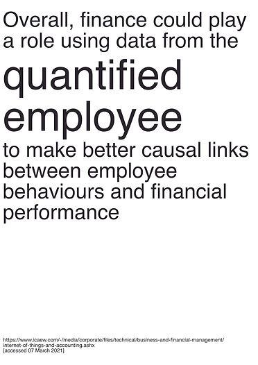 Quantified Employee