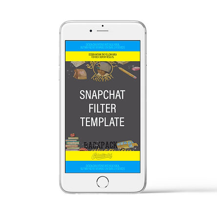 Snapchat Filter PSD Template