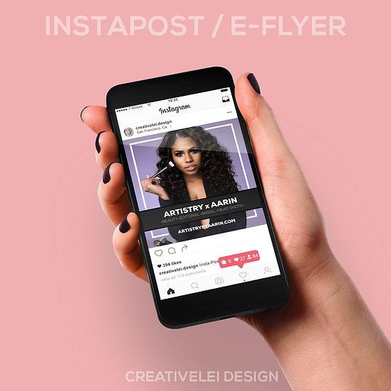 Instapost / E-Flyer Design