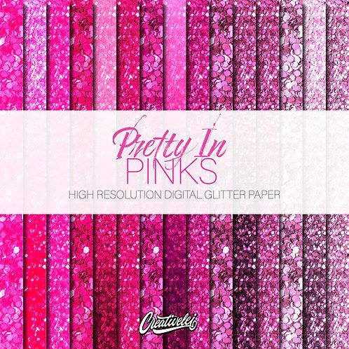 Pretty in Pinks Digital Paper