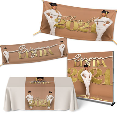 Graduation Banner Packages