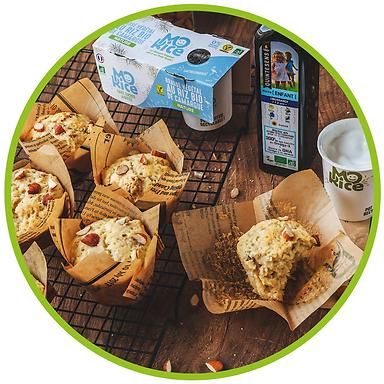 Recette muffins aux amandes vegan