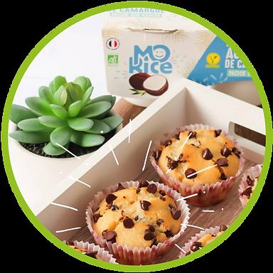 Recette muffin à la noix de coco vegan