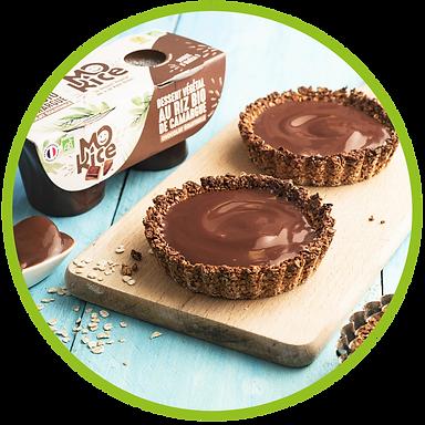recette tartelette chocolat vegan