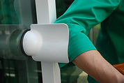 The Doorhickey - An extra handle for your sliding glass doors!