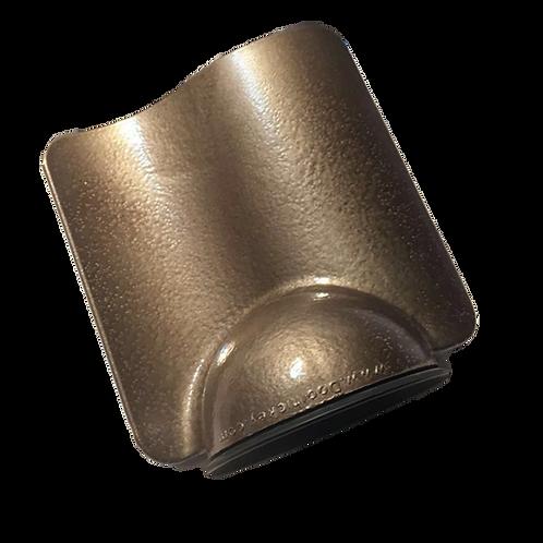 Hammered Dark Bronze Doorhickey - Single