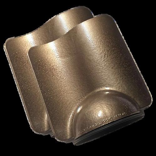 Hammered Dark Bronze Doorhickey - Bundle of Two