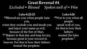 Sermon: The Great Reversal as Epiphany