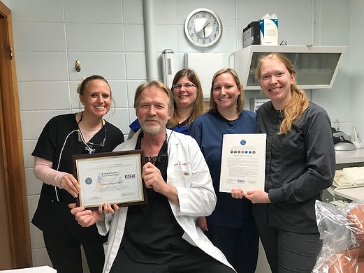 North Main Dental Staff and Dr. Hauffe