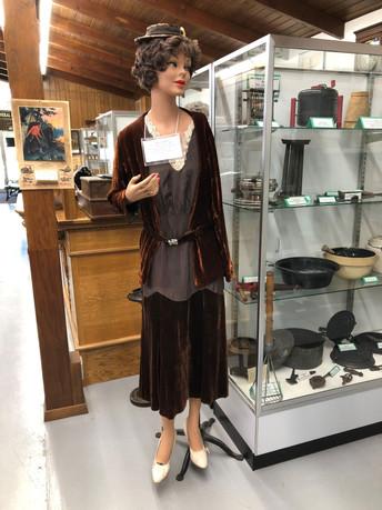 Lady in dress