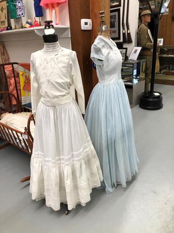 Old dresses