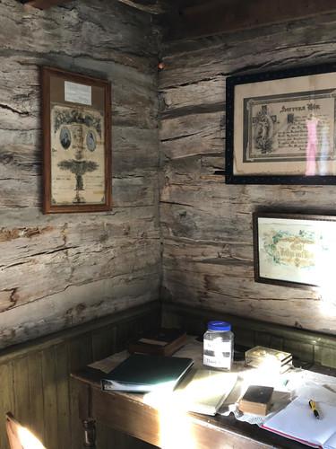 Table, log cabin.jpg