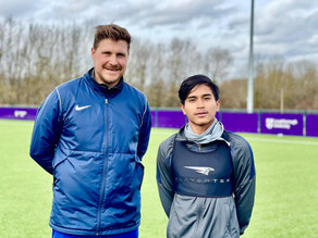 Let's Train with #GarudaSelect, Latihan Dribbling bersama Coach Danny Holmes