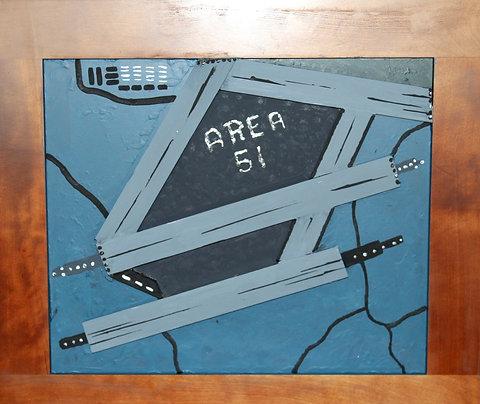 Area 51  Airport - Do Not Enter