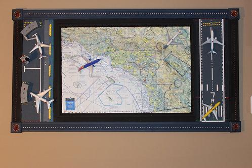 """Planes"" Wall Art Work - Custom & Original"