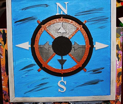 Nautical Wood Art
