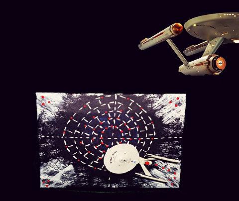 Starship U.S.S. Enterprise NCC-1701 Art Work