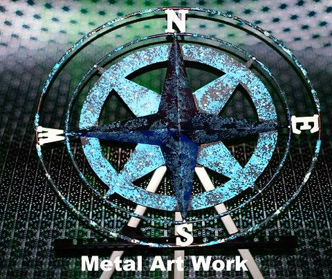 Nautical Metal Wall Art Piece