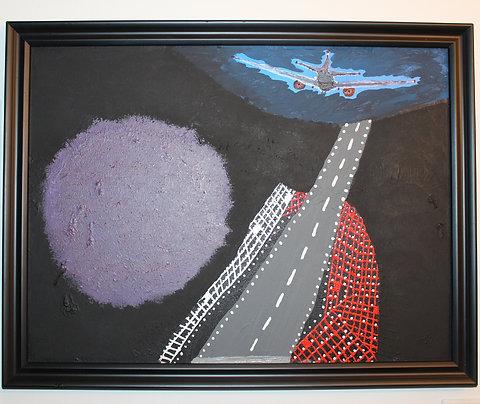 A Perfect Landing Painting (Repurposed)