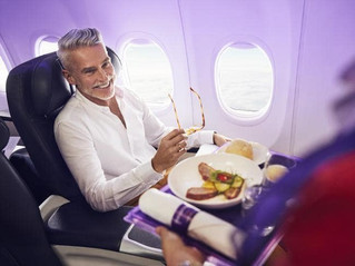 Free food and Wifi - First for an Australian Airline