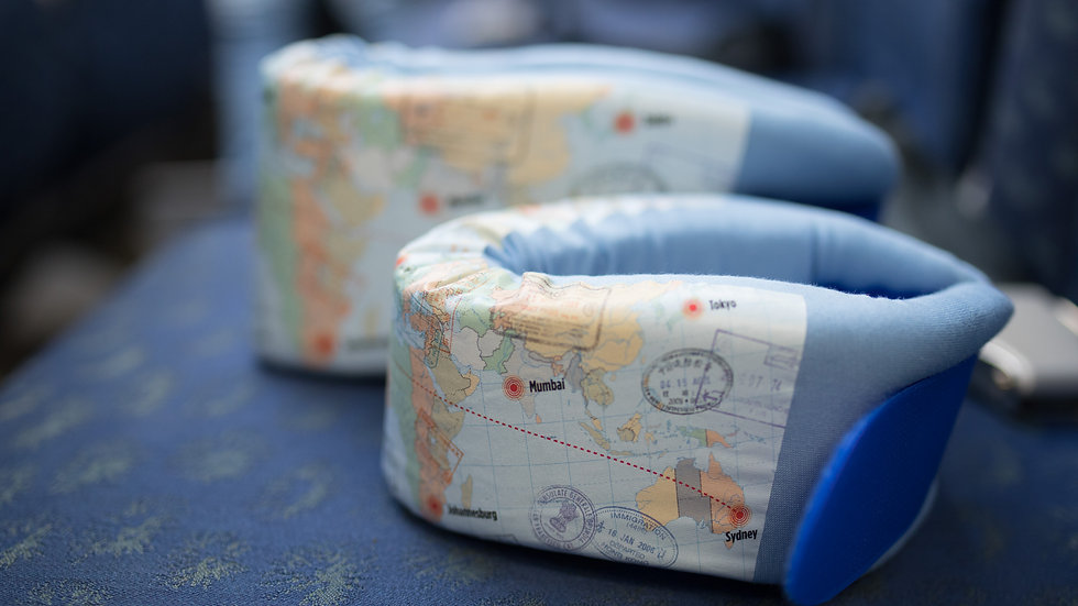 World Travels Pillow Wholesale
