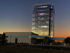 Carvana is building a massive OKC facility with 400 workers.