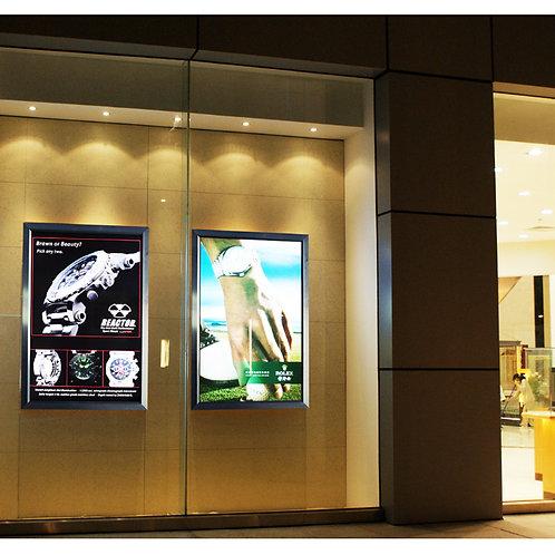 PANNEAU LED EXTRA PLAT 29.7 x 42 cm