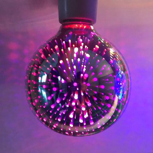 Ampoule led 3D - 6watts - Diam 95 mm