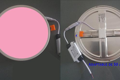Lot de 5 downlights led Boucherie 18 W-AJUSTABLE de 50 à 205 mm