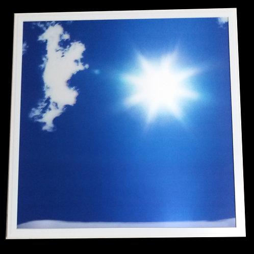 Panneau ciel nuageux  60 x 60 cm Décor plein ciel 3D