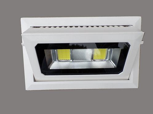 Projecteur led 40 watts encastrable et orientable