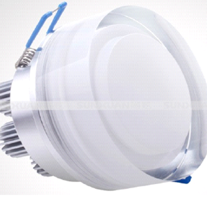 Luminaire led encastrable 7 Watts - 220 Volts