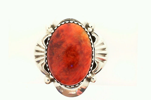 Navajo oval red