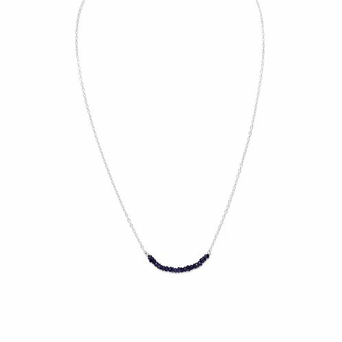 sapphire bead