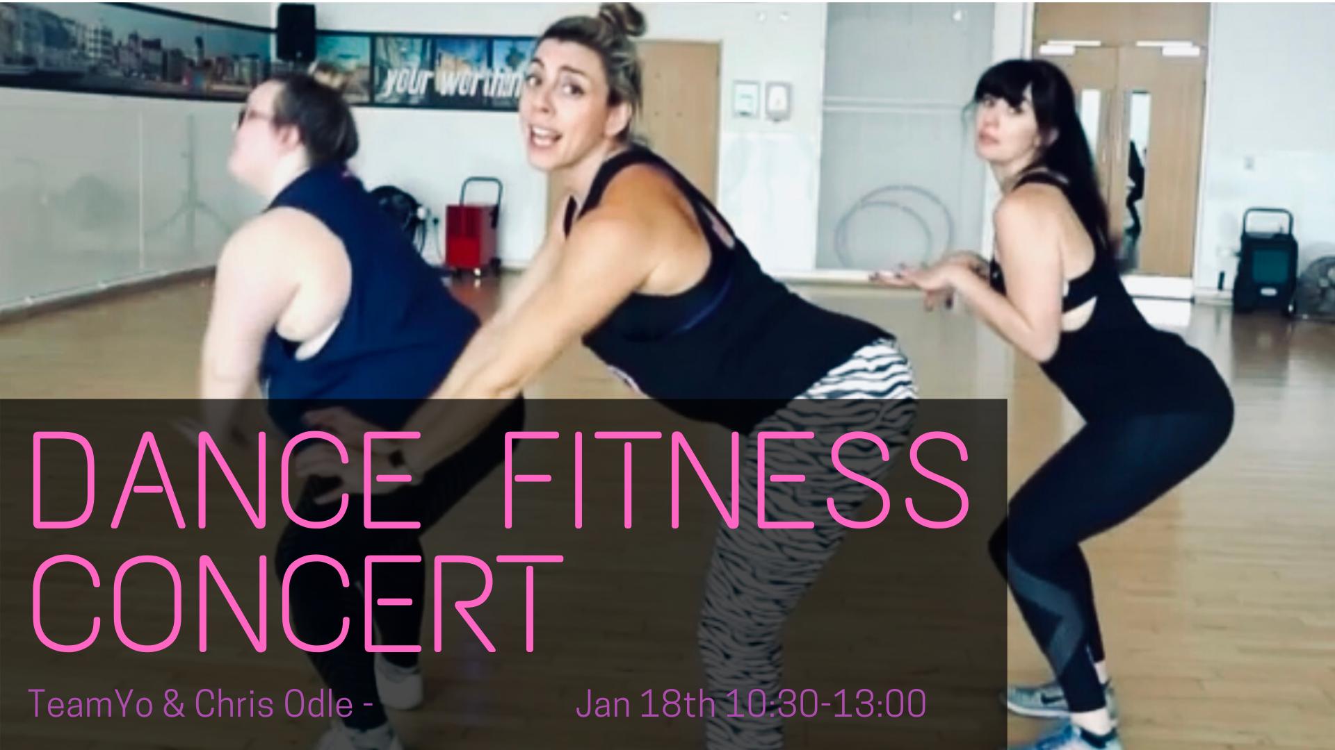 Dance fitness concert