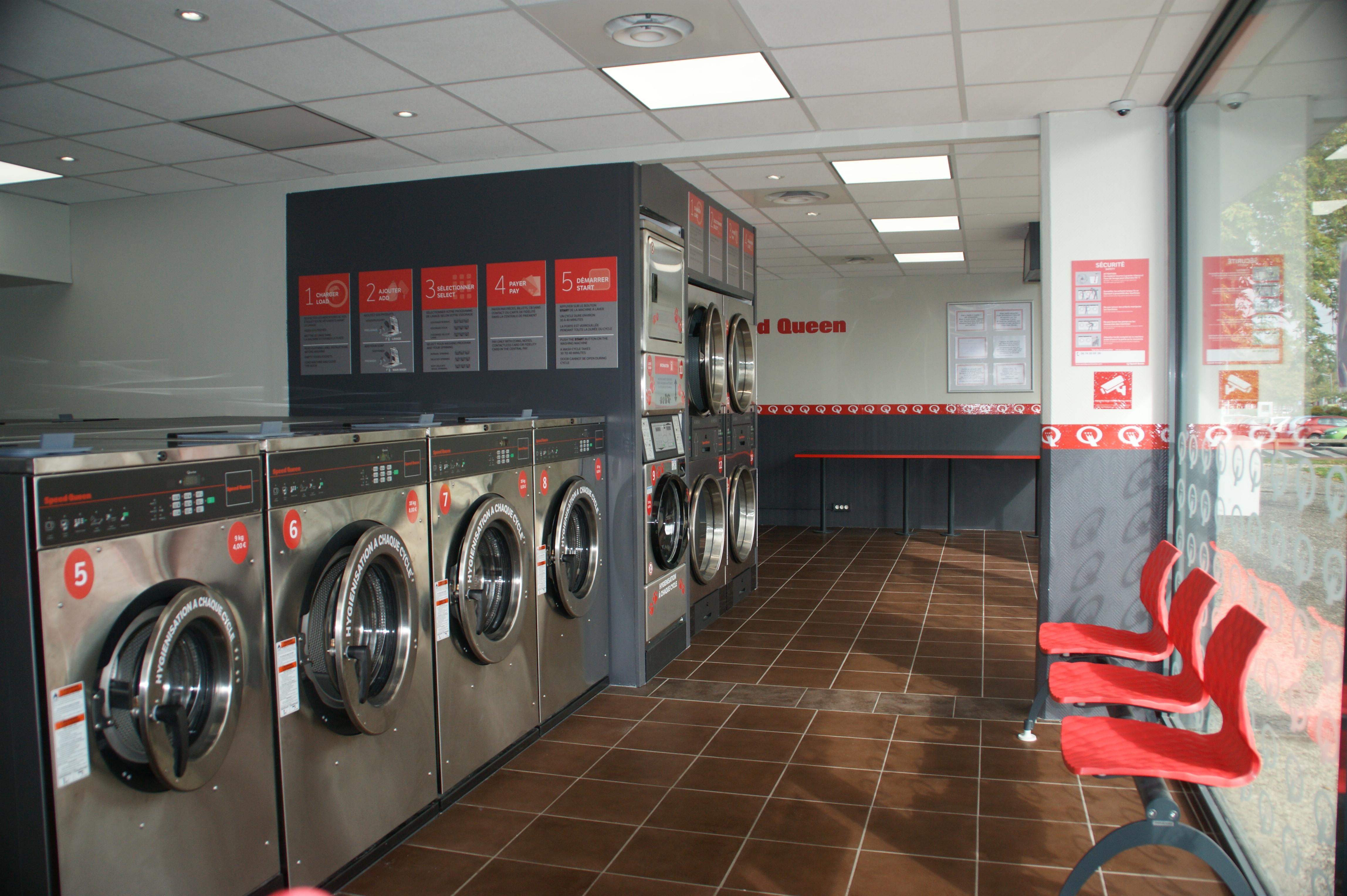 Espace lavage et séchage