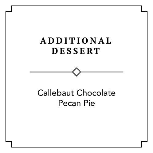 Callebaut Chocolate Pecan Pie (Additional)