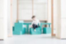Ateliertafel, 5, kinderstoel, kindertafe