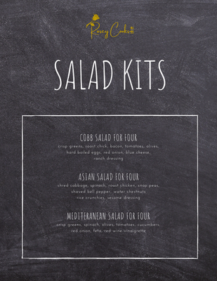 Salad Kit Menu