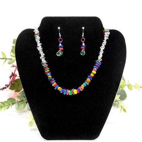 Allison: Necklace & Earrings