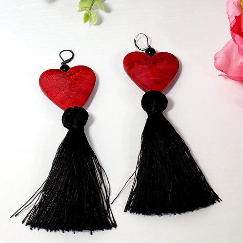Hearts: Earrings