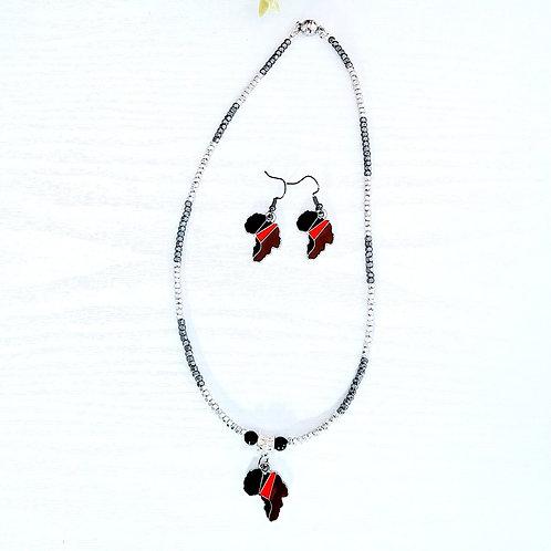 Royalty: Earrings & Necklace