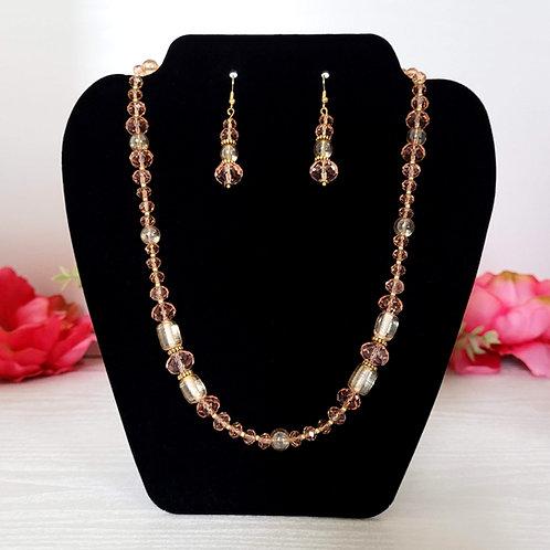 Elizabeth: Earrings & Necklace