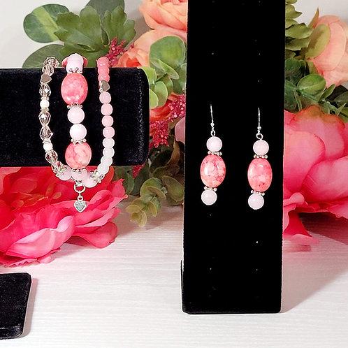 PYT: Earrings & Bracelet