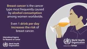 WHO: Alkohol on üks suurimaid rinnavähi riskitegureid