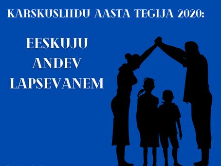 Eesti Karskusliit nimetab aasta tegijaks eeskuju andva lapsevanema